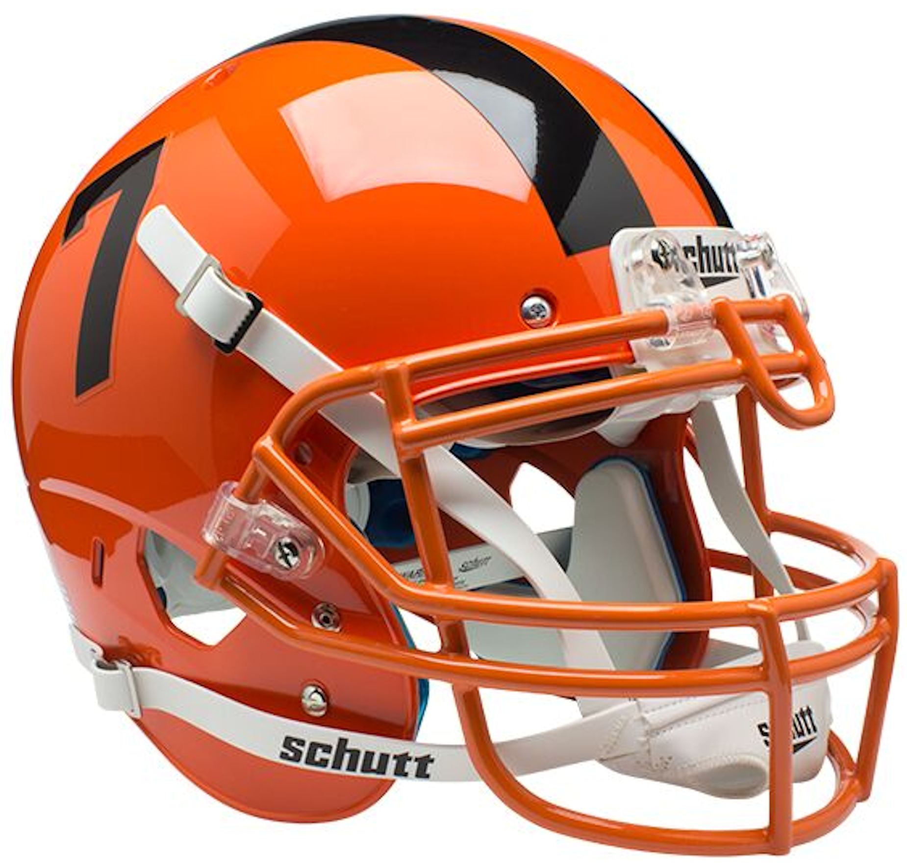 Oregon State Beavers Authentic College XP Football Helmet Schutt <B>Orange</B>