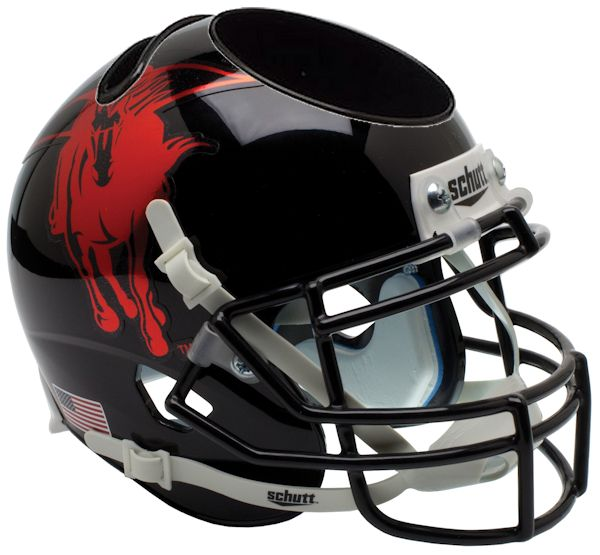 Texas Tech Red Raiders Miniature Football Helmet Desk Caddy <B>2013 Holiday Bowl</B>
