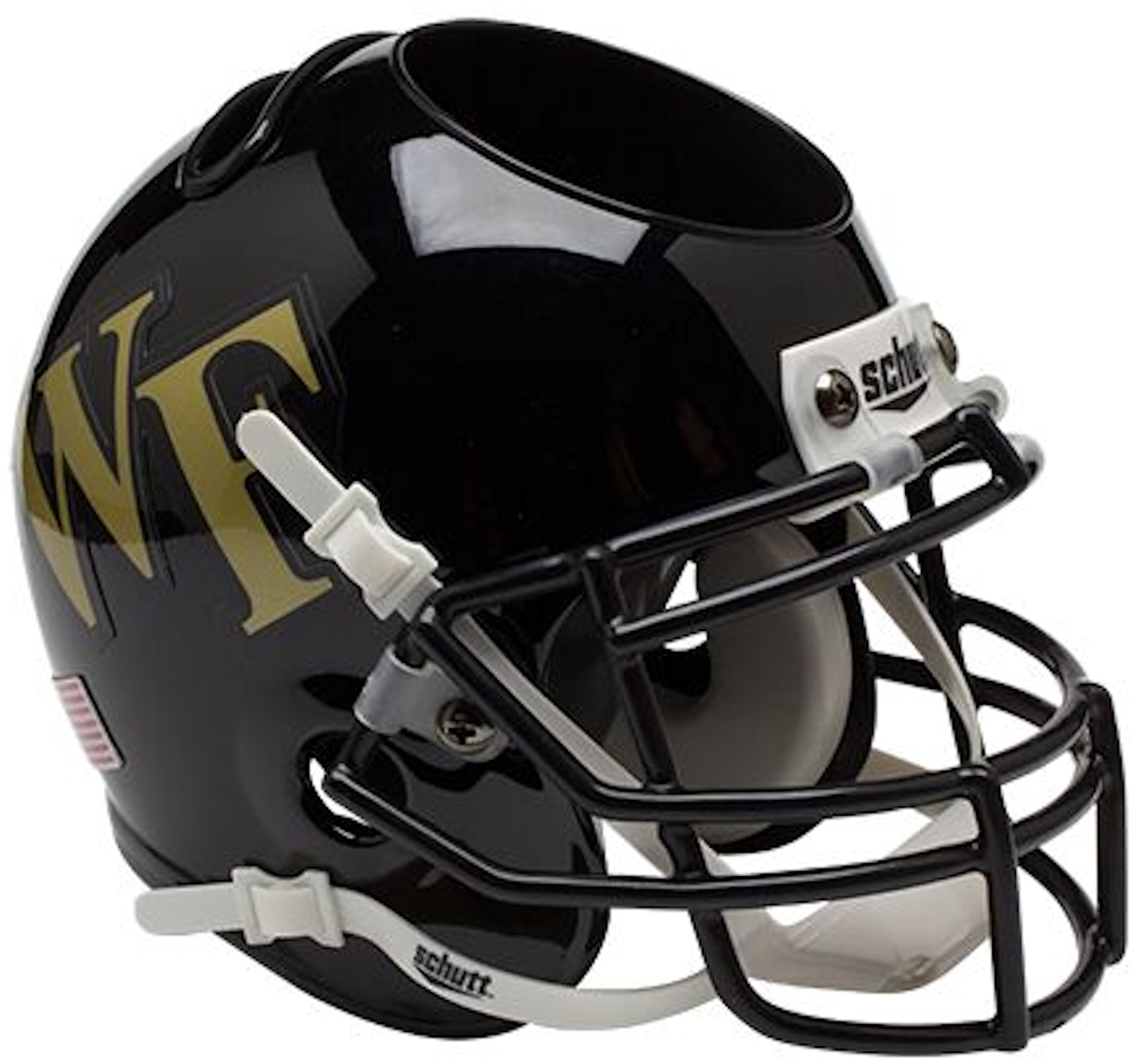 Wake Forest Demon Deacons Miniature Football Helmet Desk Caddy
