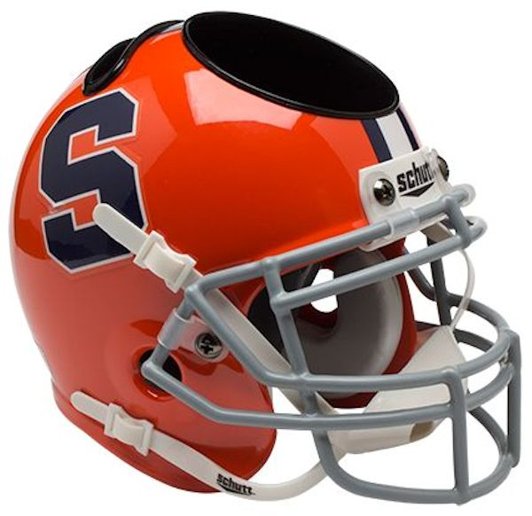 Syracuse Orangemen Miniature Football Helmet Desk Caddy