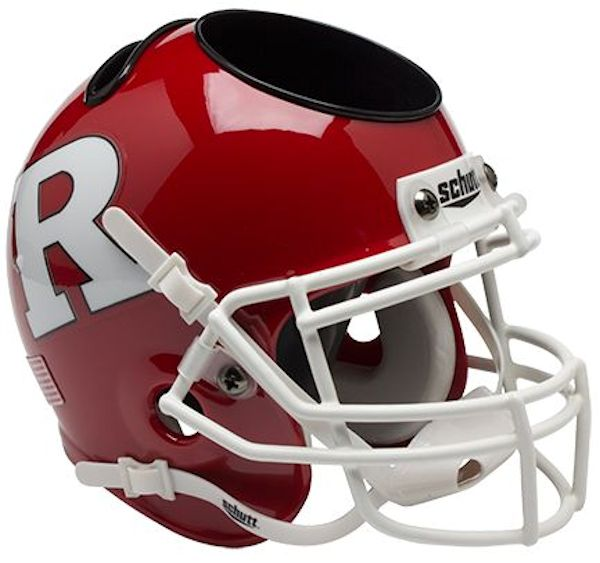 Rutgers Scarlet Knights Miniature Football Helmet Desk Caddy