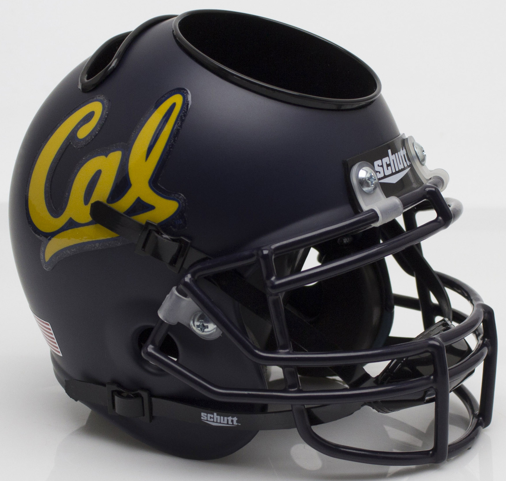 California (CAL) Golden Bears Miniature Football Helmet Desk Caddy