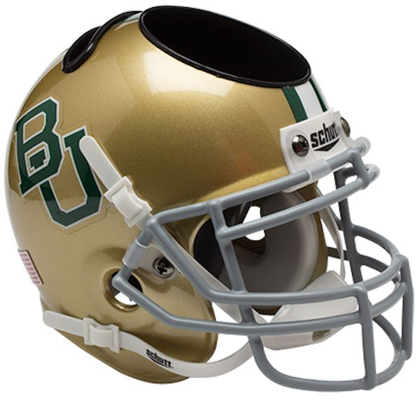 Baylor Bears Miniature Football Helmet Desk Caddy