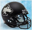 Northern Illinois Huskies Full XP Replica Football Helmet Schutt <B>Matte Black</B>