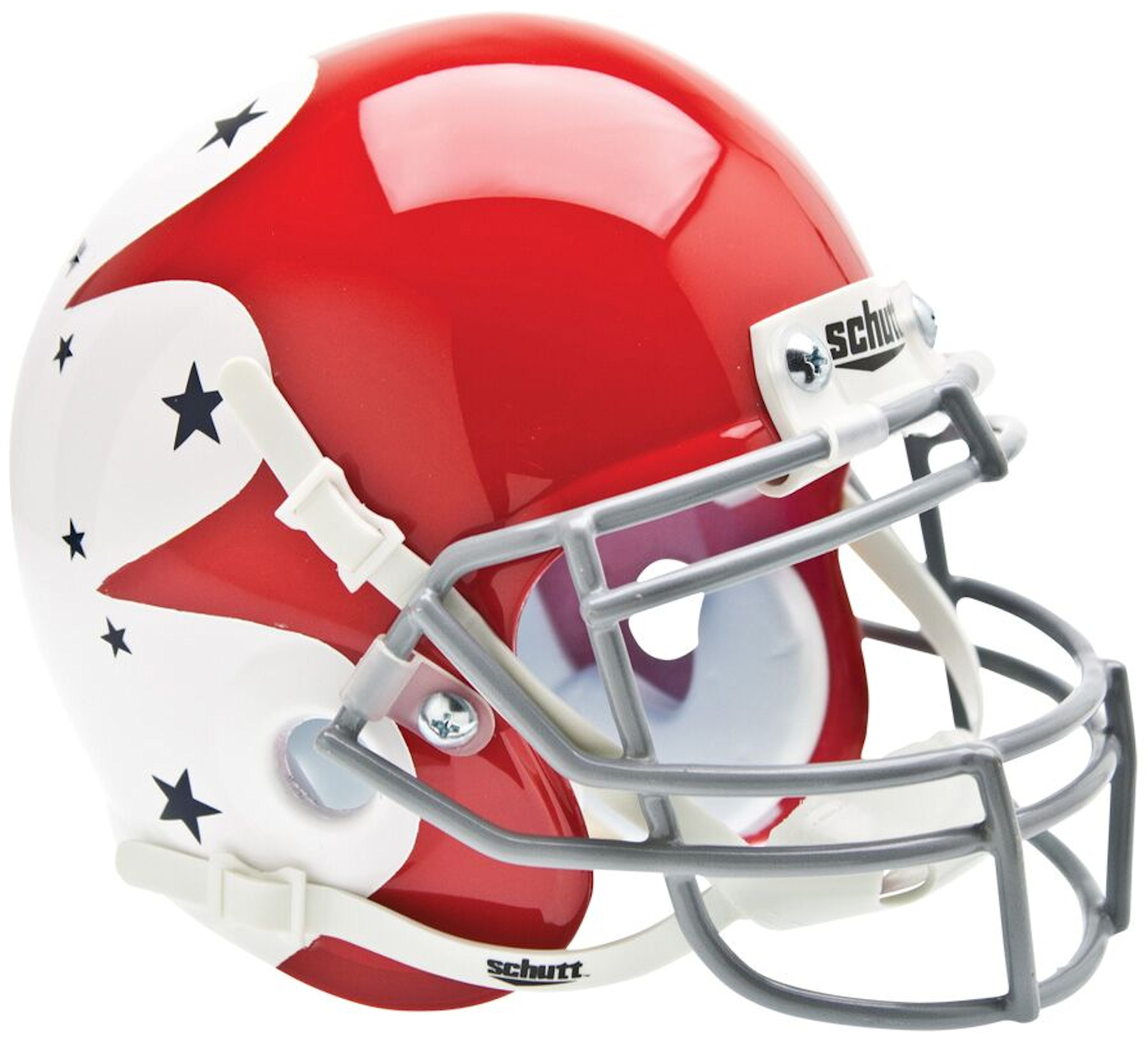 Air Force Falcons Mini XP Authentic Helmet Schutt <B>Stars</B>