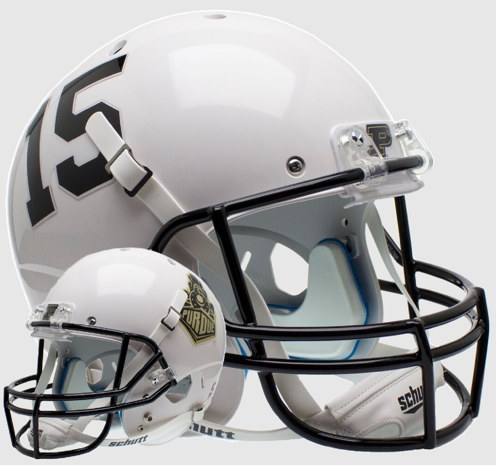 Purdue Boilermakers Full XP Replica Football Helmet Schutt <B>2015 Train</B>