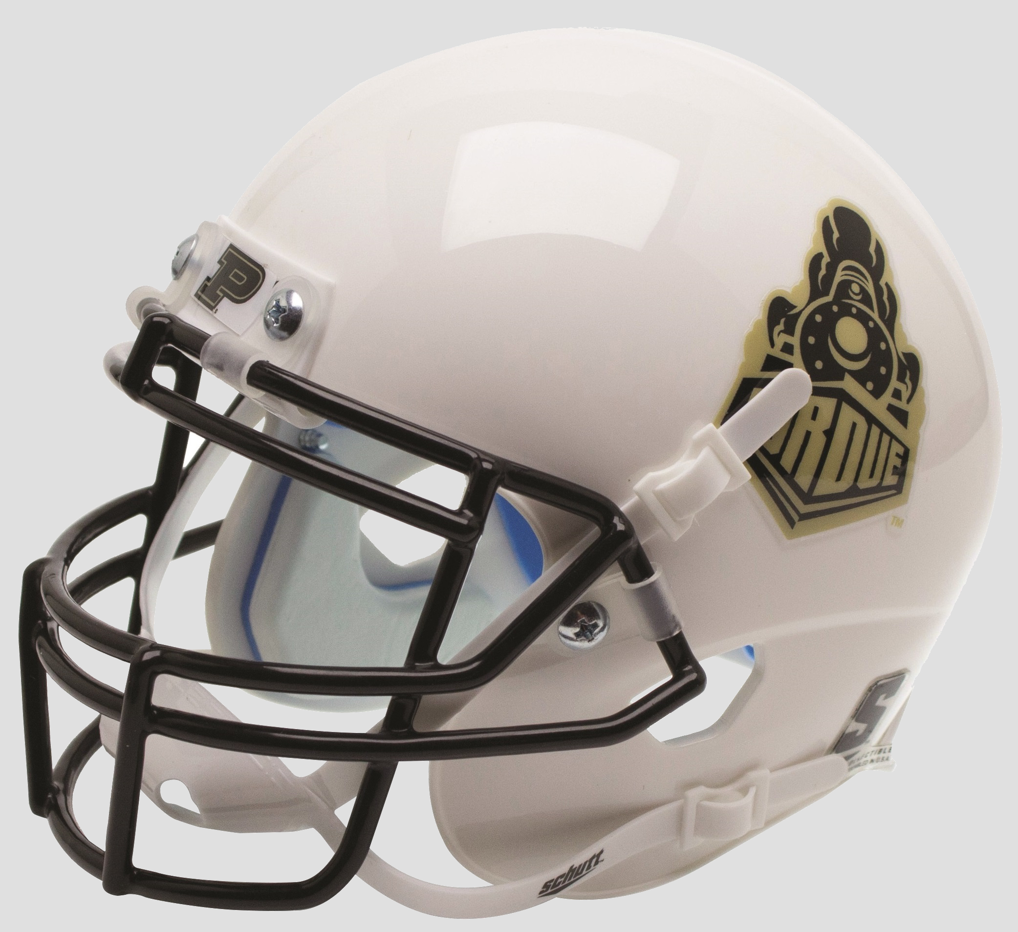 Purdue Boilermakers Mini XP Authentic Helmet Schutt <B>2015 Train</B>