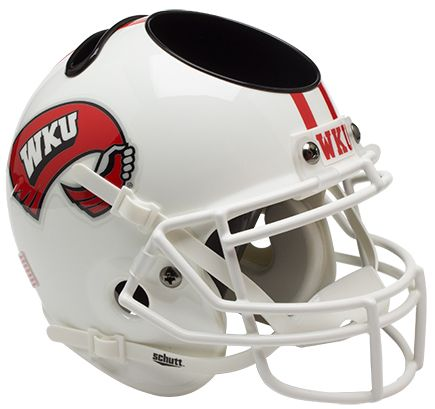 Western Kentucky Hilltoppers Miniature Football Helmet Desk Caddy