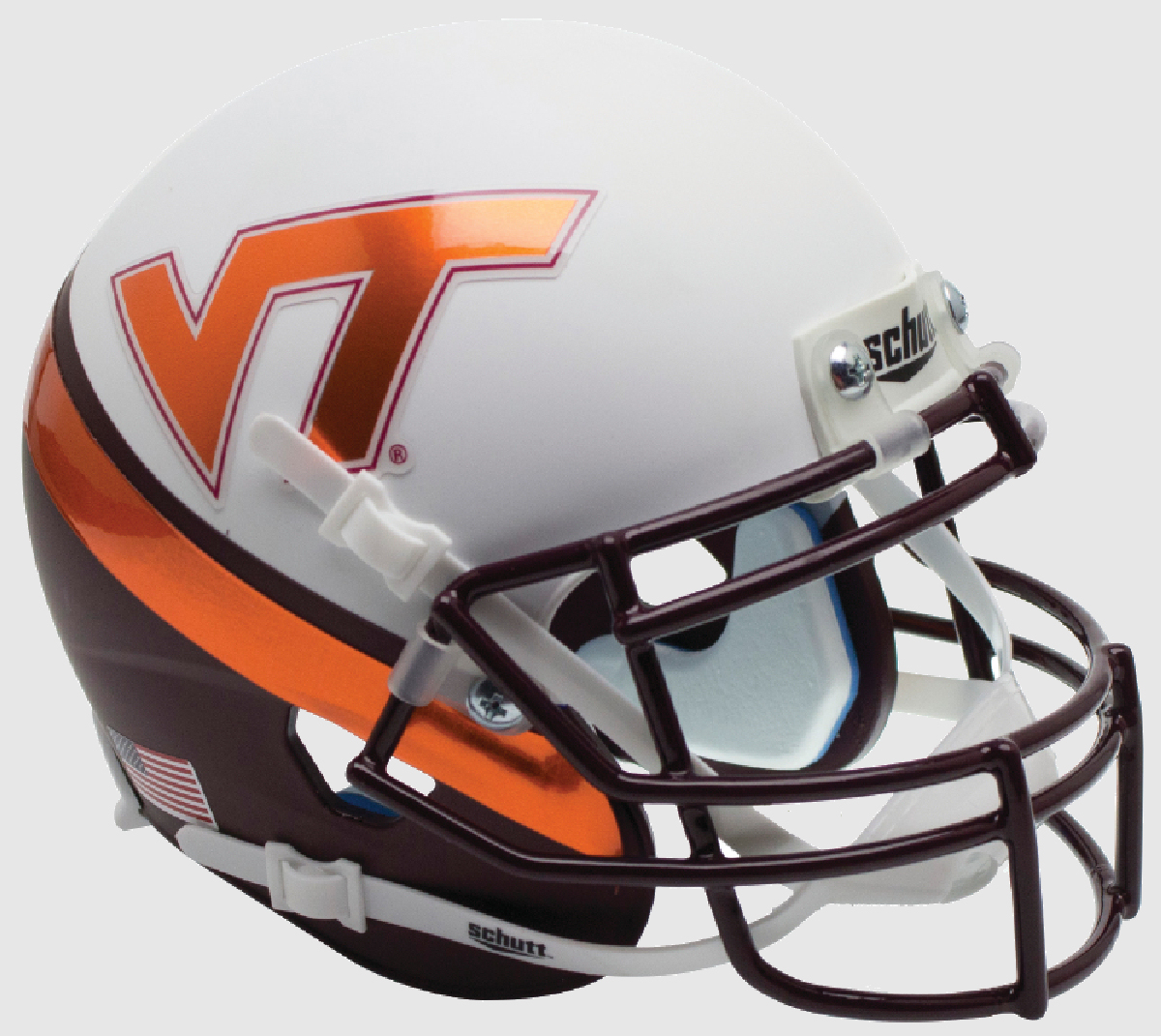 Virginia Tech Hokies Mini XP Authentic Helmet Schutt <B>New 2015</B>