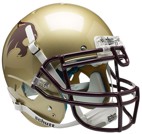 Texas State Bobcats Authentic College XP Football Helmet Schutt