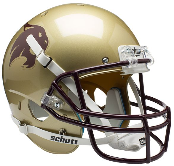 Texas State Bobcats Full XP Replica Football Helmet Schutt