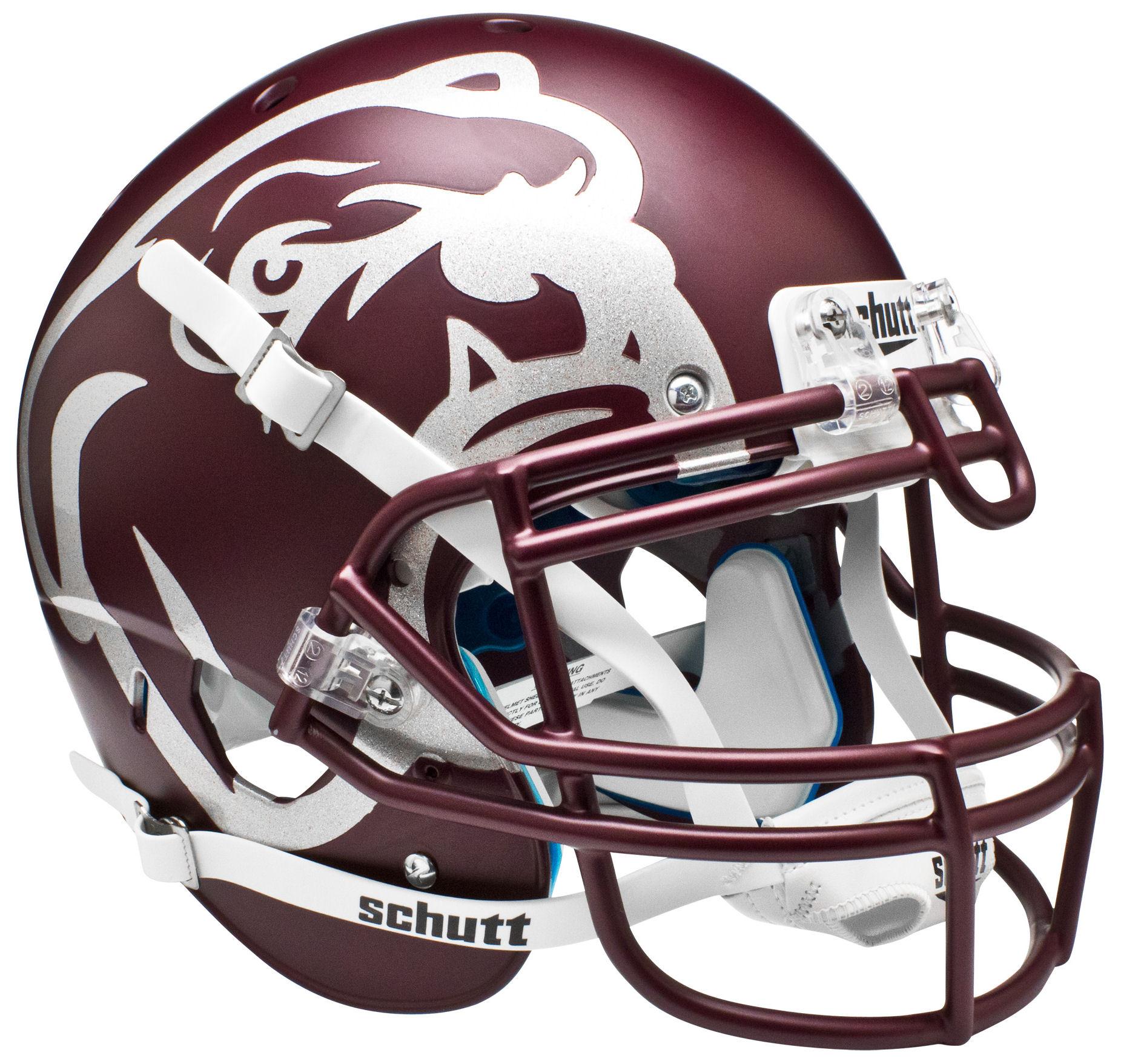 Mississippi State Bulldogs Authentic College XP Football Helmet Schutt <B>Maroon</B>