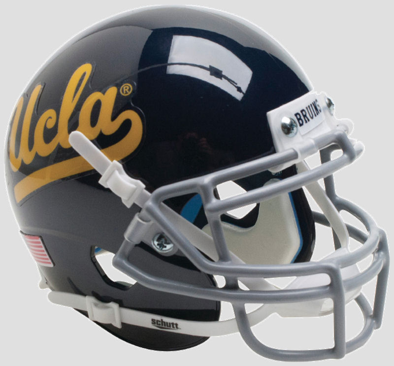 UCLA Bruins Miniature Football Helmet Desk Caddy <B>Black</B>