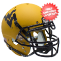 Helmets, Full Size Helmet: West Virginia Mountaineers Authentic College XP Football Helmet Schutt <B>M...