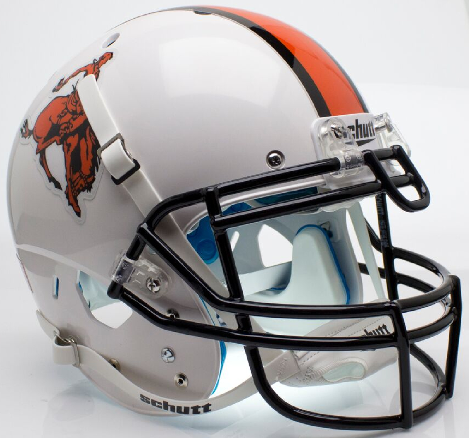 Oklahoma State Cowboys Authentic College XP Football Helmet Schutt <B>Bucking Cowboy</B>
