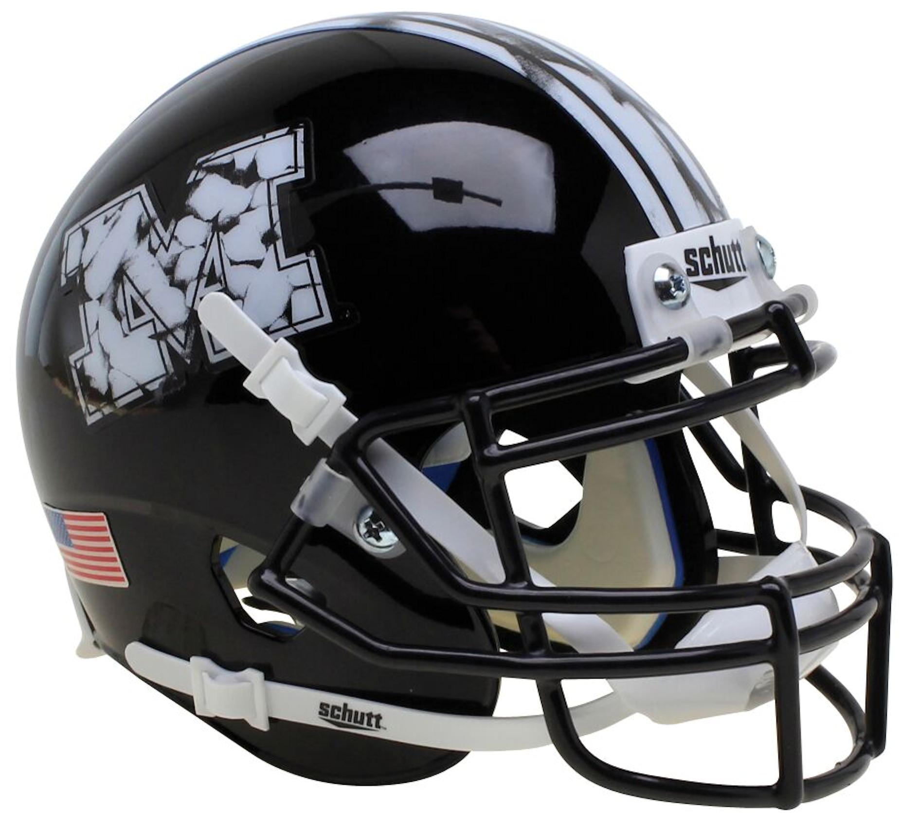 Missouri Tigers Mini XP Authentic Helmet Schutt <B>Black M</B>