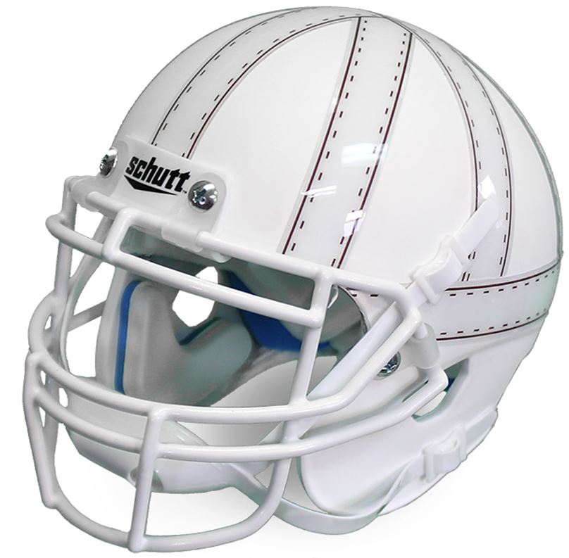 Nebraska Cornhuskers Mini XP Authentic Helmet Schutt <B>White</B>