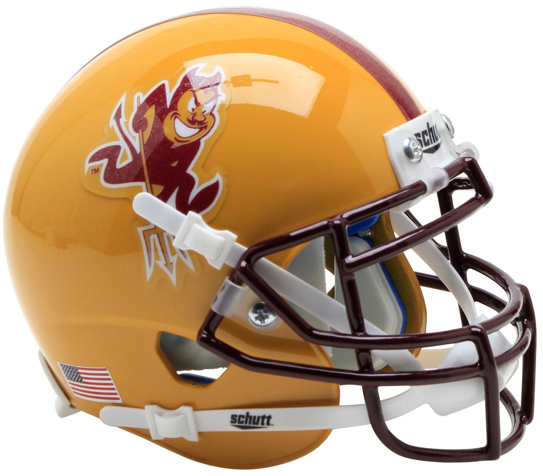 Arizona State Sun Devils Mini XP Authentic Helmet Schutt <B>Sparky</B>