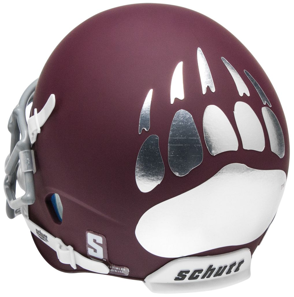 Montana Grizzlies Full XP Replica Football Helmet Schutt <B>Matte Maroon</B>