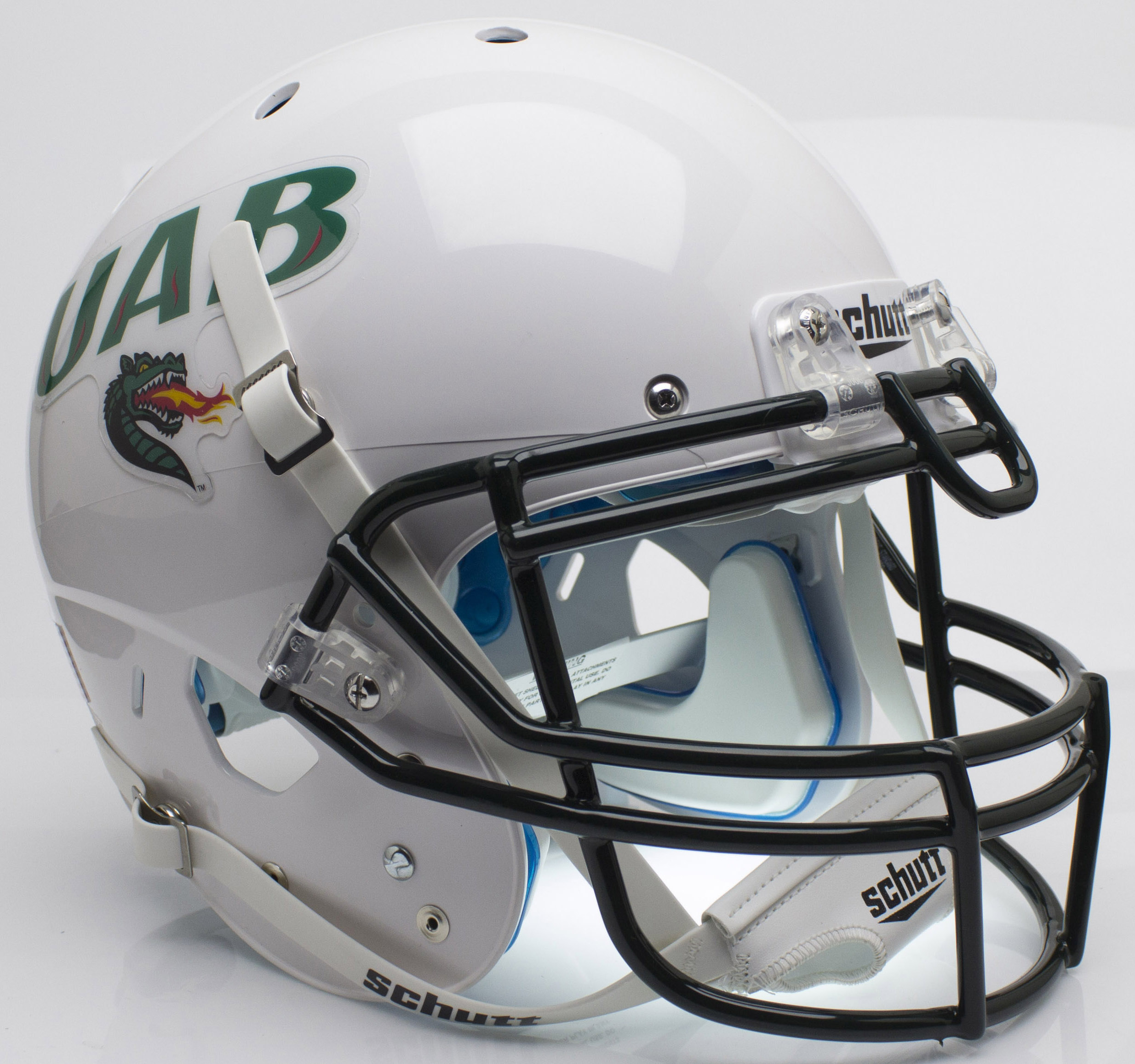 Alabama-Birmingham (UAB) Blazers Authentic College XP Football Helmet Schutt <B>White</B>