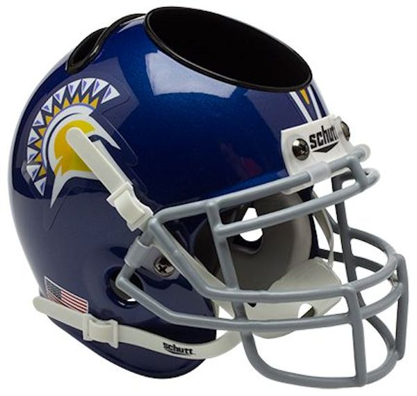 San Jose State Spartans Miniature Football Helmet Desk Caddy