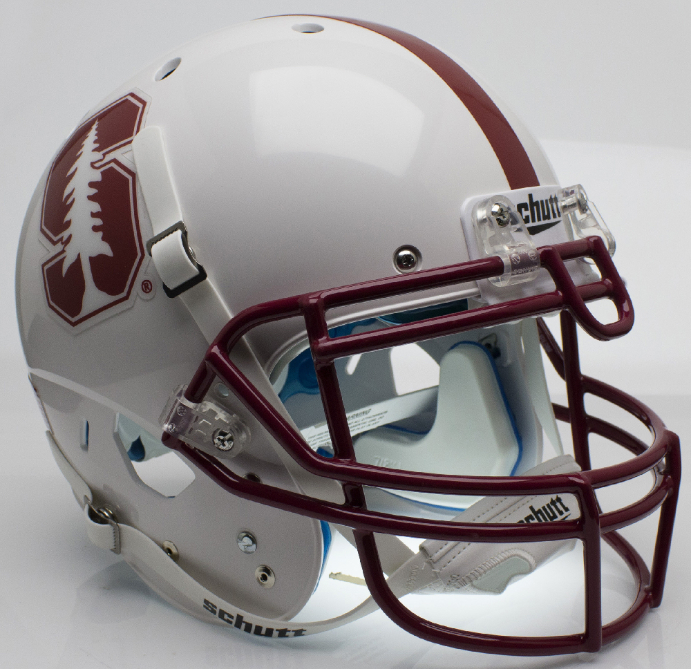 Stanford Cardinal Authentic College XP Football Helmet Schutt <B>Alt 2015</B>