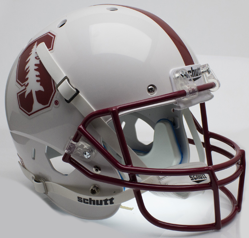 Stanford Cardinal Full XP Replica Football Helmet Schutt <B>Alt 2015</B>