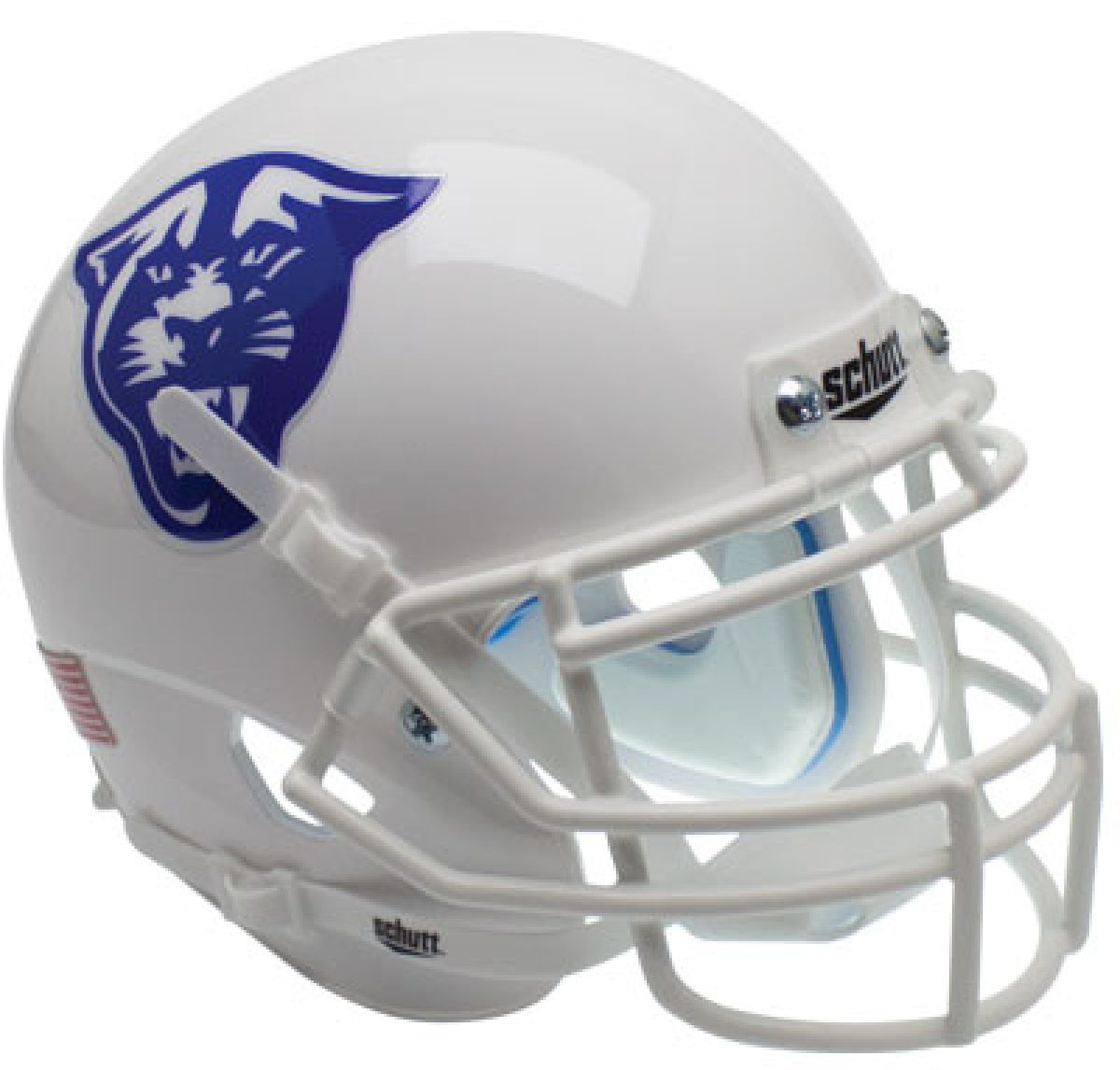 Georgia State Panthers Full XP Replica Football Helmet Schutt <B>White</B>