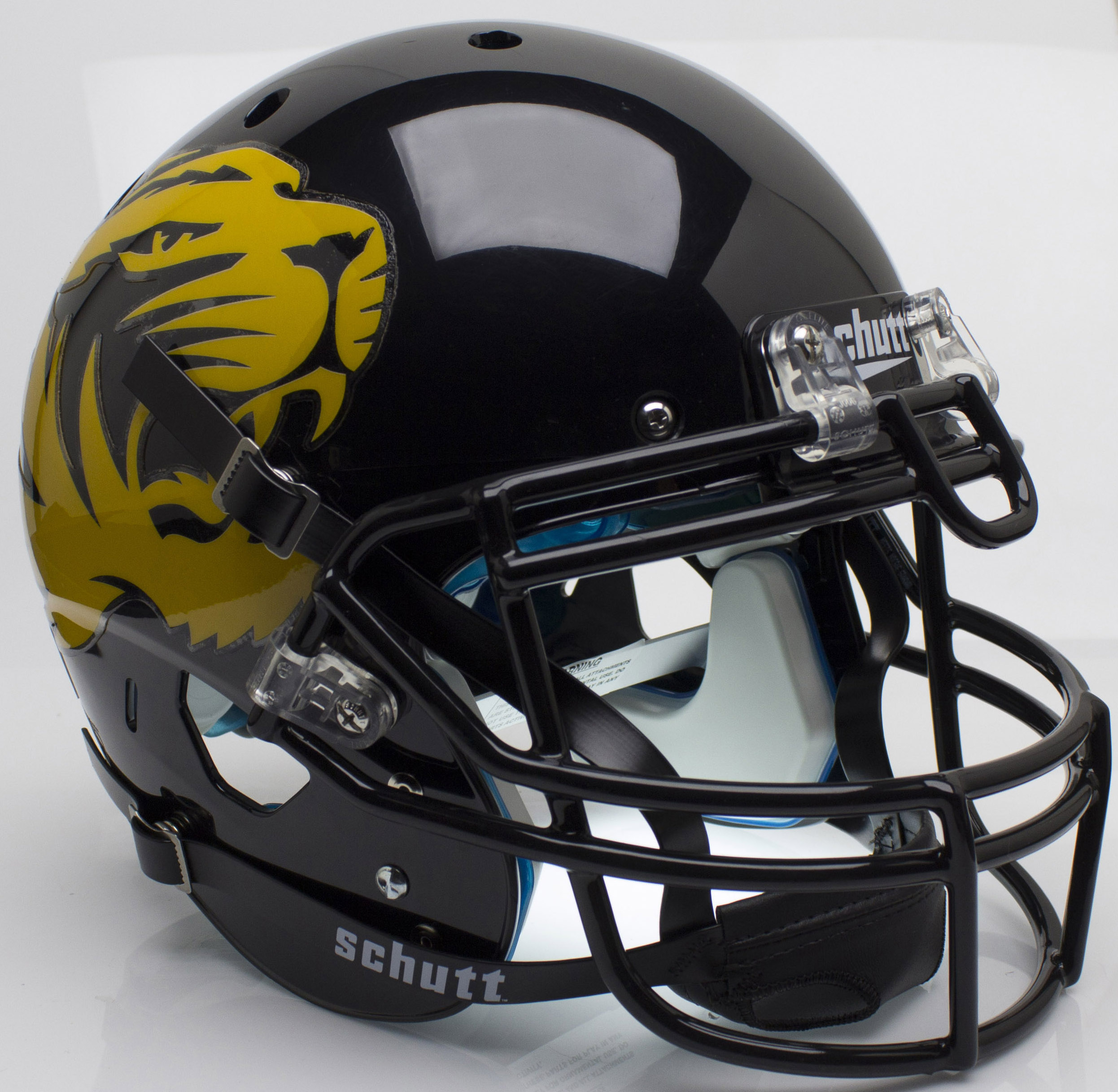 Missouri Tigers Authentic College XP Football Helmet Schutt <B>Large Tiger Alt 4</B>