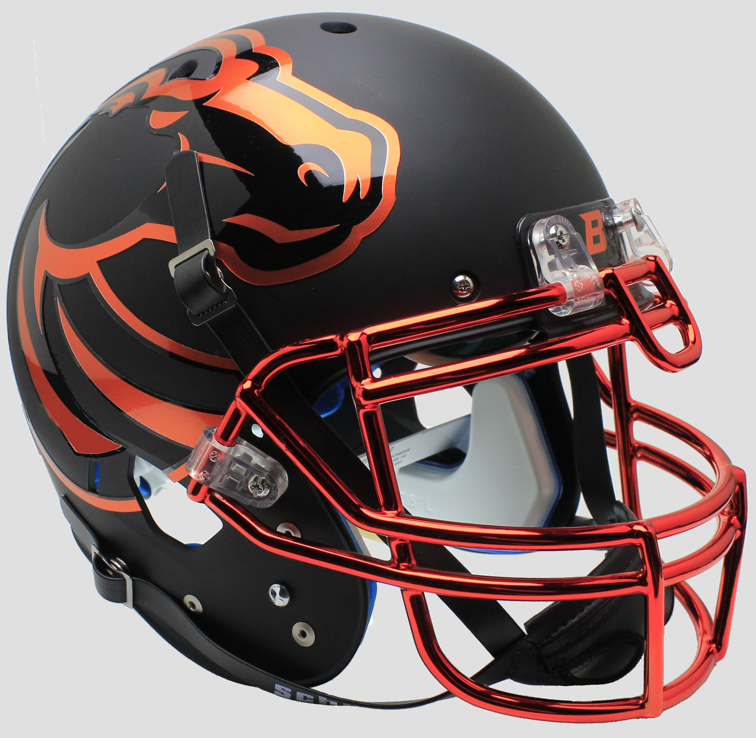 Boise State Broncos Authentic College XP Football Helmet Schutt <B>Halloween</B>