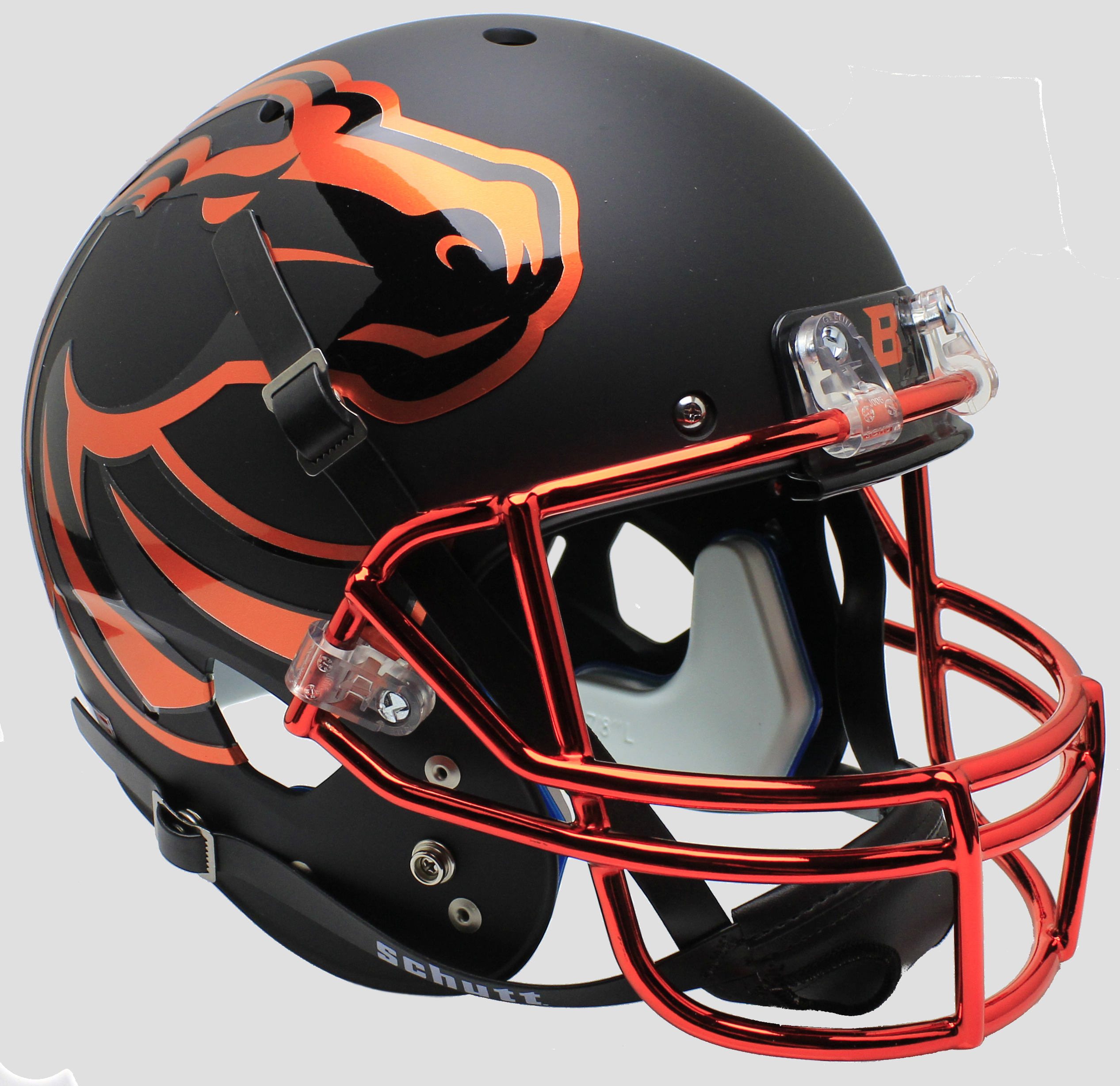Boise State Broncos Full XP Replica Football Helmet Schutt <B>Halloween</B>