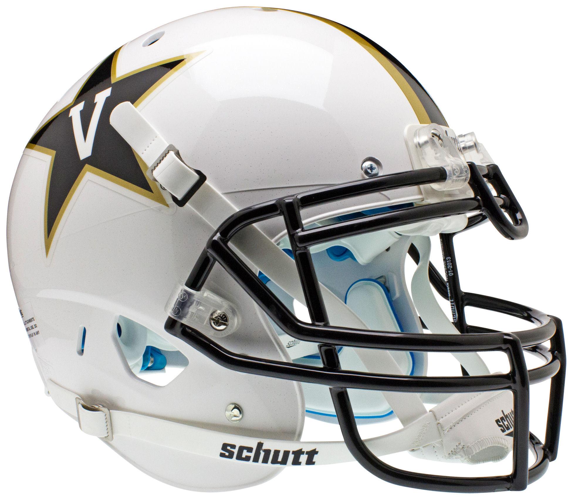 Vanderbilt Commodores Authentic College XP Football Helmet <B>White<B>