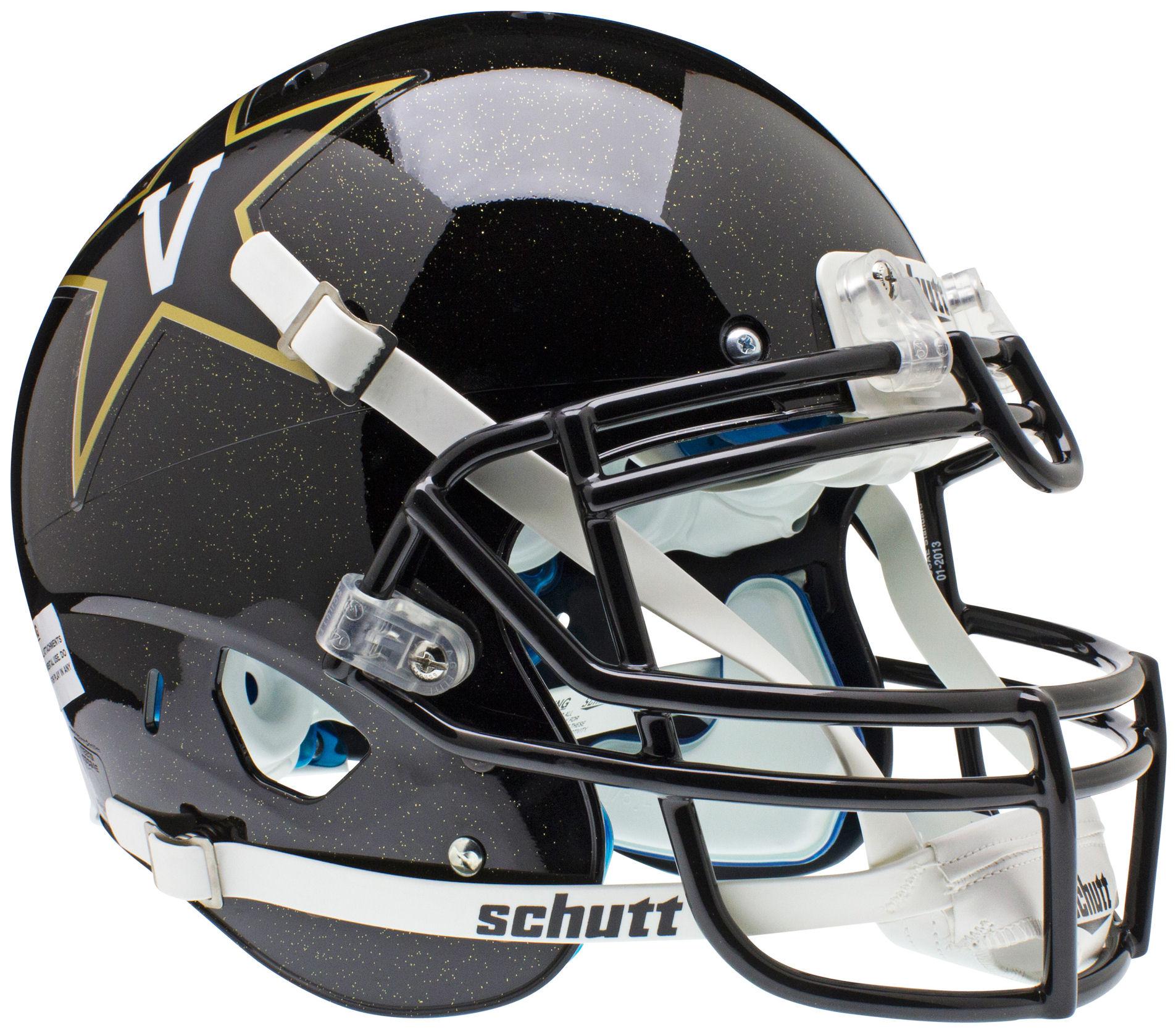 Vanderbilt Commodores Authentic College XP Football Helmet <B>Black<B>