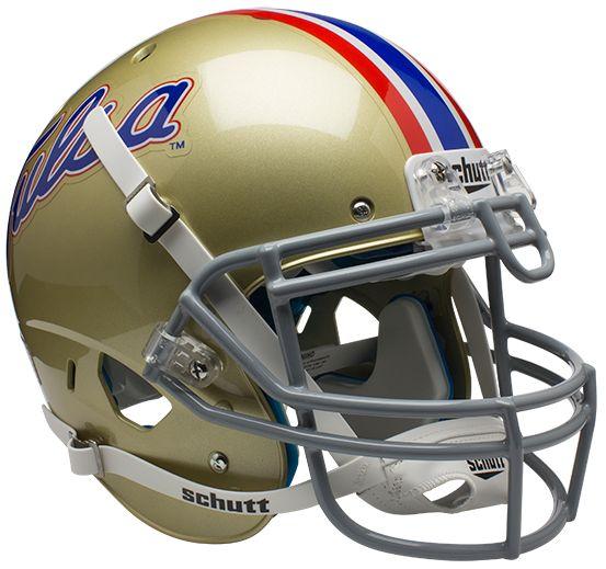 Tulsa Golden Hurricane Authentic College XP Football Helmet Schutt