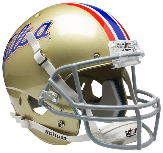 Tulsa Golden Hurricane Full XP Replica Football Helmet Schutt