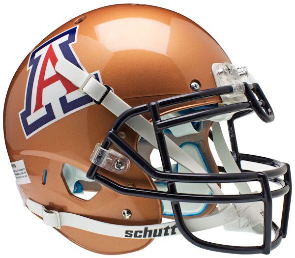 Arizona Wildcats Authentic College XP Football Helmet Schutt <B>Copper</B>