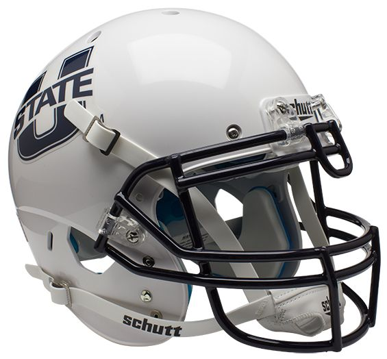 Utah State Aggies Authentic College XP Football Helmet Schutt