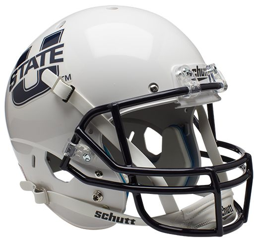 Utah State Aggies Full XP Replica Football Helmet Schutt