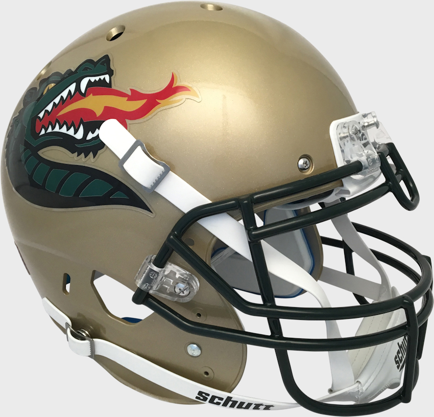 Alabama-Birmingham (UAB) Blazers Authentic College XP Football Helmet Schutt <B>Gold</B>