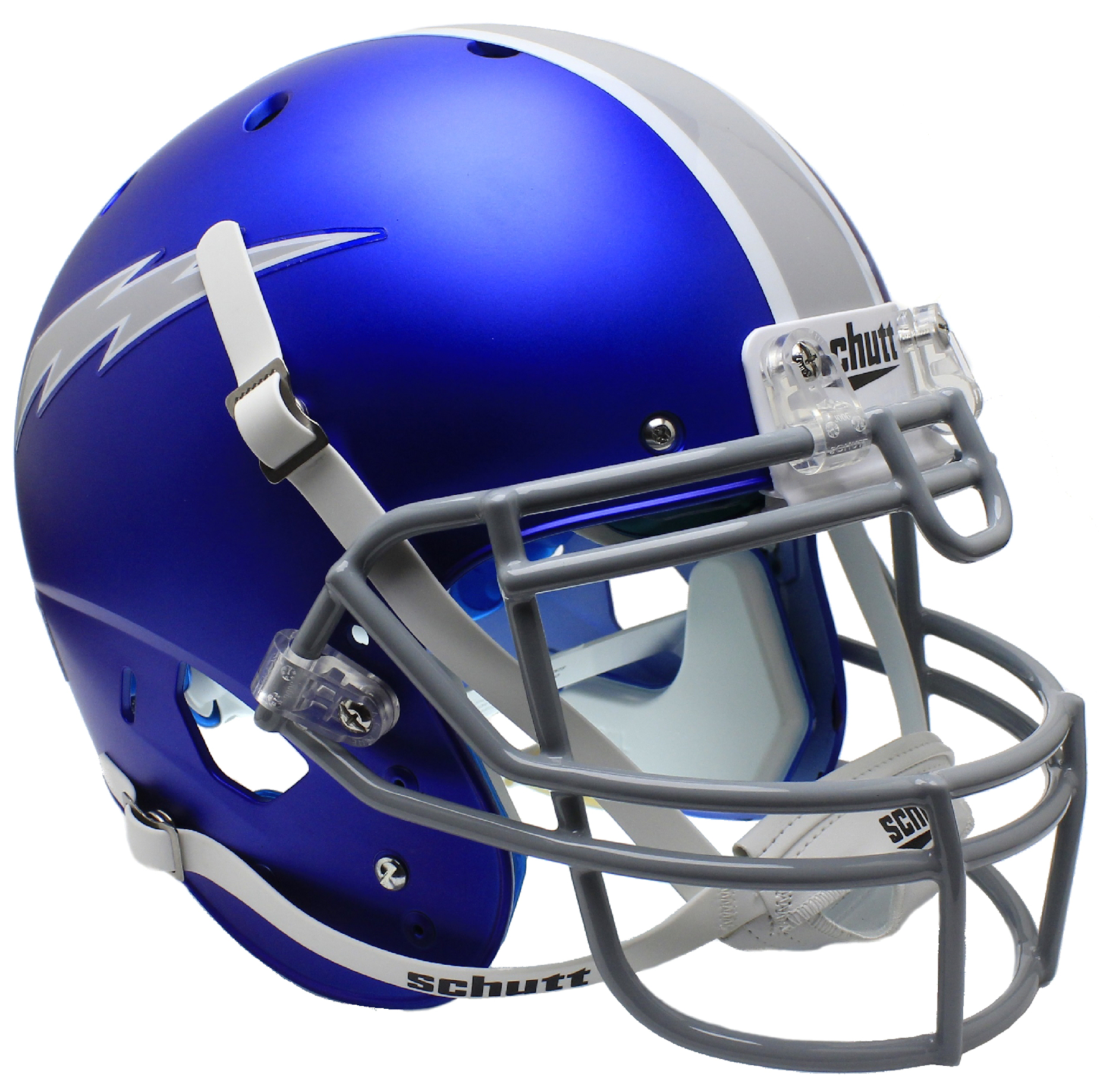 Air Force Falcons Authentic College XP Football Helmet Schutt <B>Satin Blue</B>