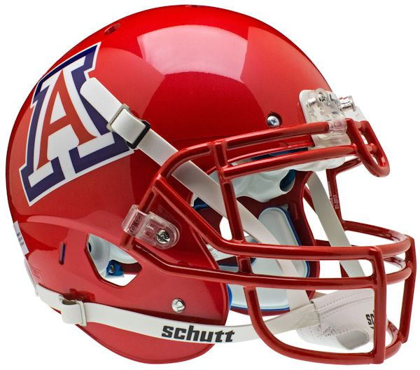 Arizona Wildcats Authentic College XP Football Helmet Schutt <B>Scarlet</B>