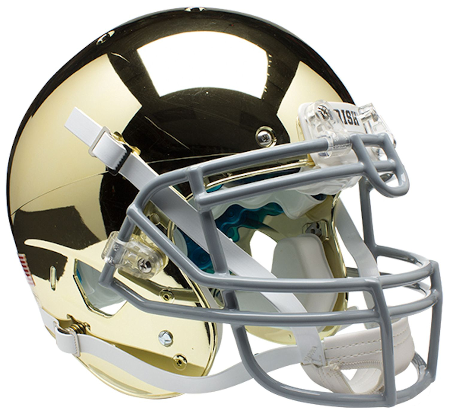 Notre Dame Fighting Irish Authentic College XP Football Helmet Schutt <B>Gold</B>