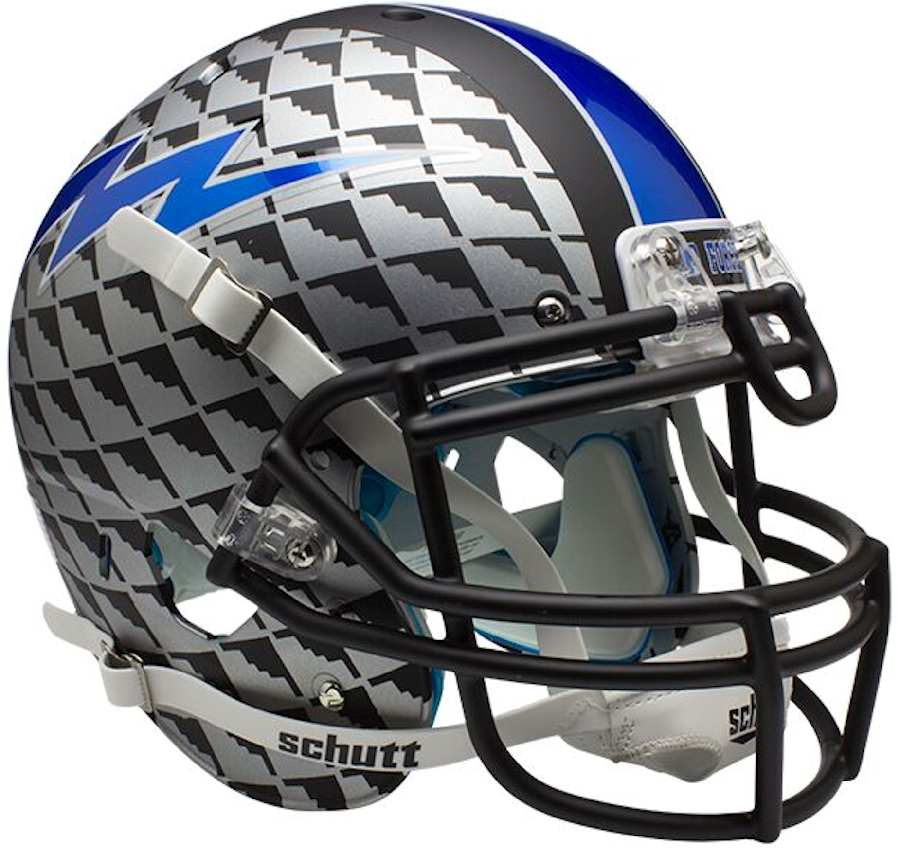 Air Force Falcons Authentic College XP Football Helmet Schutt <B>Bomber</B>