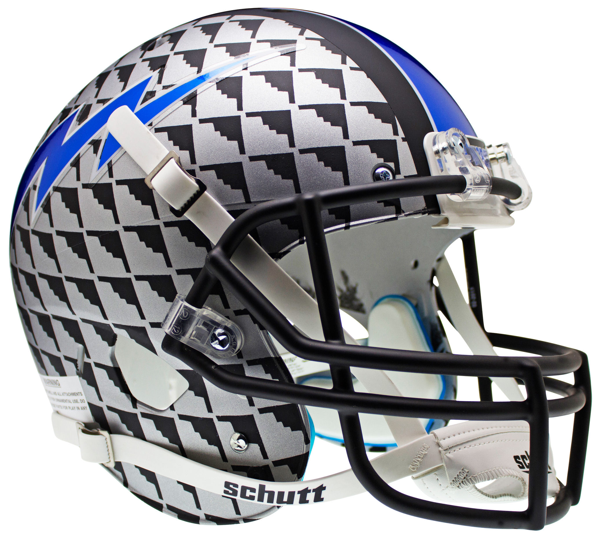 Air Force Falcons Full XP Replica Football Helmet Schutt <B>Bomber</B>