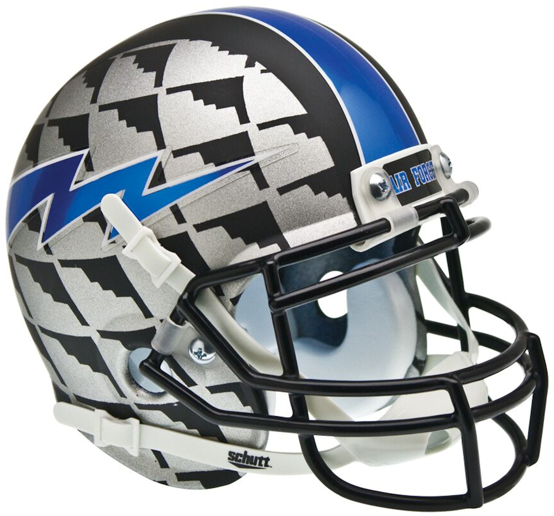 Air Force Falcons Mini XP Authentic Helmet Schutt <B>Bomber</B>
