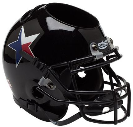 Texas Tech Red Raiders Miniature Football Helmet Desk Caddy <B>Star</B>