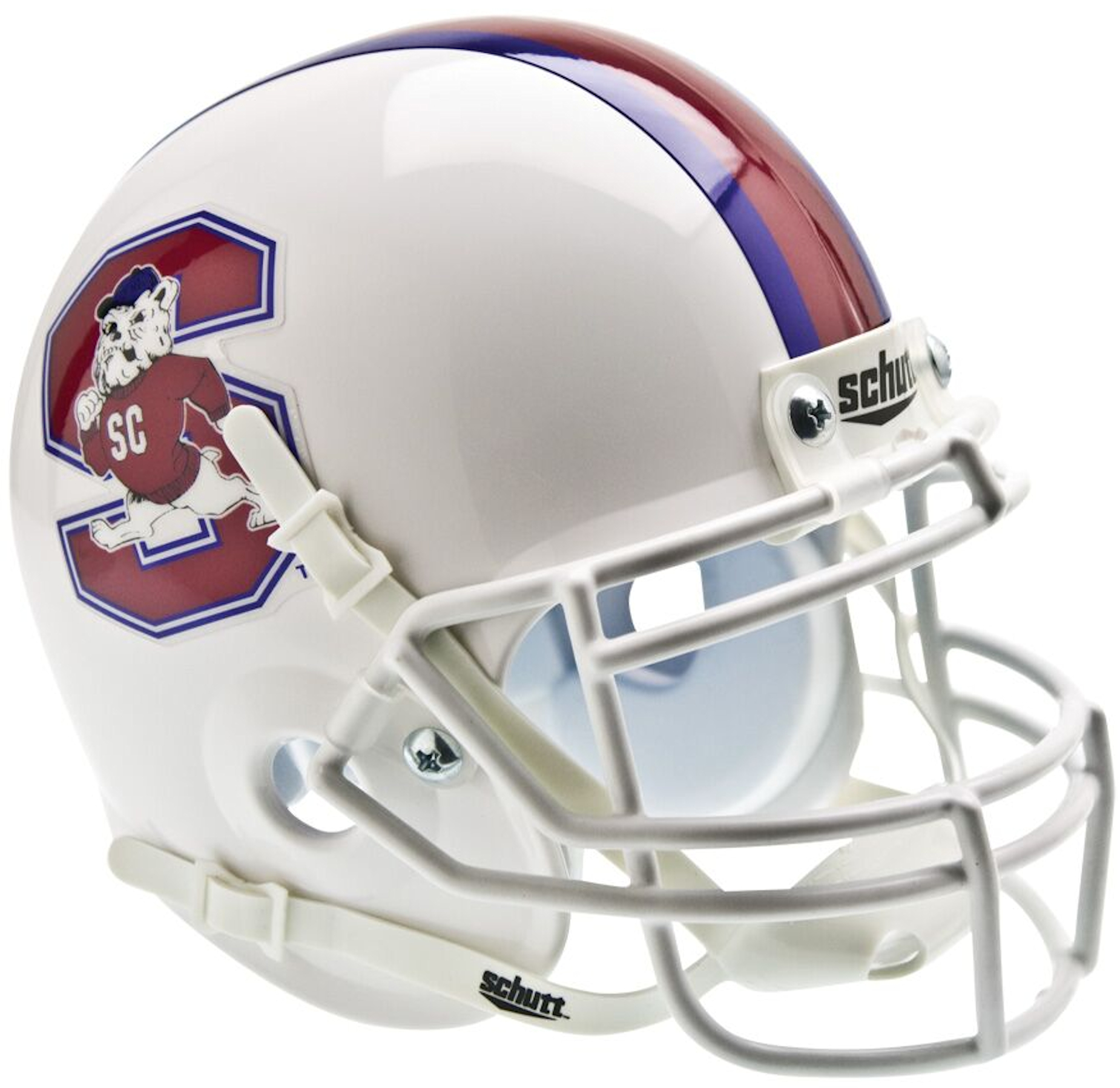 South Carolina State Bulldogs Mini XP Authentic Helmet Schutt