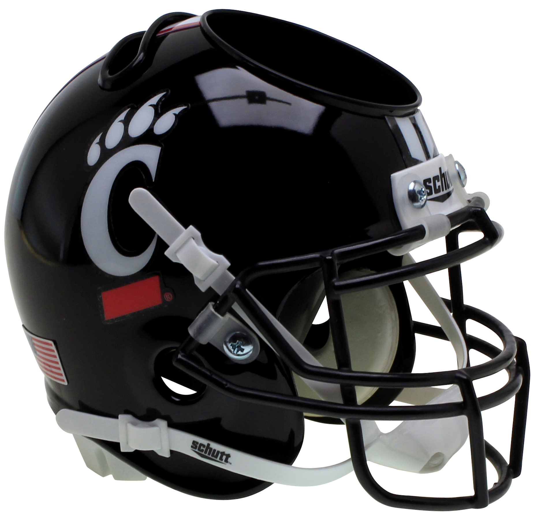 Cincinnati Bearcats Mini Football Helmet Desk Caddy <B>Black</B>