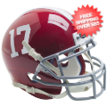 Helmets, Mini Helmets: Alabama Crimson Tide Mini XP Authentic Helmet Schutt #16