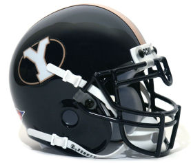 Brigham Young Cougars 1999 to 2004 Schutt Mini Authentic Throwback Helmet